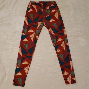 LuLaroe One Size  multi color Triangles